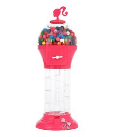Look what I found on #zulily! Large Barbie Gumball Dispenser by Sakar #zulilyfinds