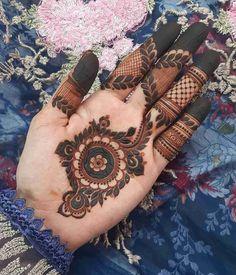 Rose Mehndi Designs, Finger Henna Designs, Beginner Henna Designs, Latest Bridal Mehndi Designs, Stylish Mehndi Designs, Mehndi Designs For Girls, Mehndi Design Photos, Mehndi Designs For Fingers, Dulhan Mehndi Designs