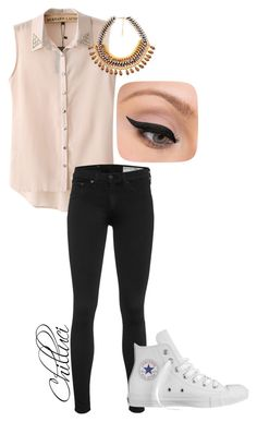 """""""Autumn 2015"""" by chilluci on Polyvore featuring Chicnova Fashion, rag & bone, Converse and LORAC"""