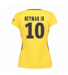 PSG Neymar Jr 10 Bortatröja Dam 17-18 Kortärmad Junior Shirts, Neymar Jr, Psg, Messi, Ronaldo, Real Madrid, Barcelona, Barn, Converted Barn