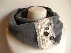 Rundschal/Loop Vintage Lace III von trollkind-design auf DaWanda.com