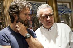 Carlo Cracco and Alain Ducasse