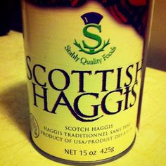 Try Haggis in your coffee for Robbie Burns Day