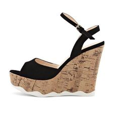 Sandal Shops, Fringes, Black Sandals, Bordeaux, Wedges, Spring, Summer, Fashion, Fashion Styles