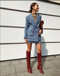 Stunning Office Outfits for Ladies - Vincisjournal Fashion Mode, Love Fashion, Fashion Outfits, Womens Fashion, Parisian Style Fashion, Office Outfits For Ladies, Mode Ootd, Business Mode, Looks Chic