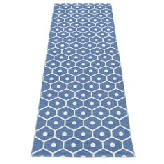 Pappelina Honey Blue/Vanilla Runner Rug (Hall)