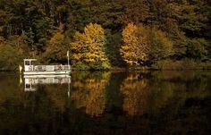 Eine Herbstfahrt auf der Fähre Welles ... sollte man sich gönnen, auch wenn sie nur zwei Minuten dauert. Man kann ja mehrmals hin und her fahren. :-)