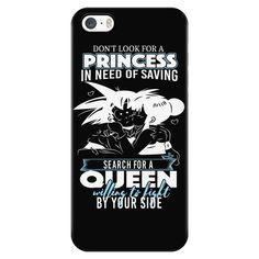 Super Saiyan - Goku search for a queen - Iphone Phone Case - TL01110PC