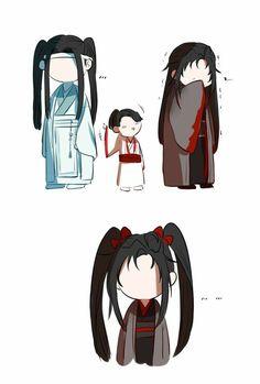 Manhwa, Bleach Couples, Cute Chibi, The Grandmaster, Cute Gay, Cute Love, Chinese Art, Doujinshi, Anime Art