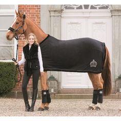 Pferdedecken : Glööckler Abschwitzdecke Royal Fur HKM