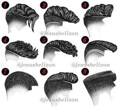 Hair Style Draw