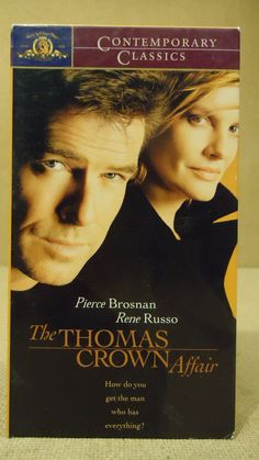 MGM Pictures The Thomas Crown Affair VHS Movie * Plastic * -- Used