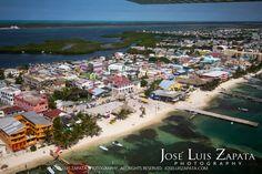 San Pedro Ambergris Caye Belize | San Pedro Ambergris Caye Belize Jose Luis Zapata Photography Aerial ...