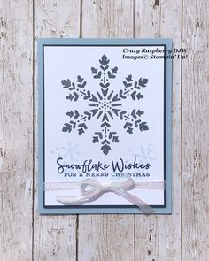 Homemade Christmas Cards, Christmas Cards To Make, Holiday Cards, Christmas Gifts, Xmas, Poinsettia Cards, Snowflake Cards, Christmas Snowflakes, Stampin Up Weihnachten