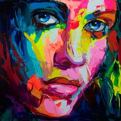 Colorful Painting - Francoise Nielly's