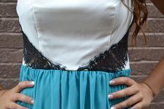 Teal Me A Secret Dress $46