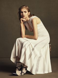 visual optimism; fashion editorials, shows, campaigns & more!: pretty simple: aneta pajak by ben weller for wsj april 2015