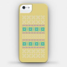 #iphone #case #sweater #hipster Sweater Print Yellow