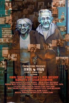 Irwin & Fran  Life with Professor Irwin Corey and his wife Fran. Irwin is 98 years old and is a well known comedian, entertainer and political satirist.