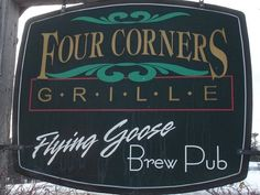 Four Corners Grill, Flying Goose Brew Pub, New London, NH