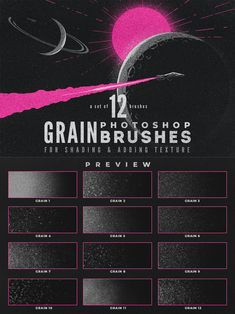 Grain Volume - Photoshop Brushes Photoshop Brushes, Makeup Brushes, Swatch, Grains, Make Up, Templates, Texture, Design, Surface Finish