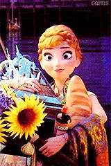 Anna-funny(gif) Haha I love how she has food on her face like a real person dose when they take a bite out of their food Anna Frozen, Frozen And Tangled, Frozen Heart, Disney Frozen, Best Disney Movies, Disney Films, Disney And Dreamworks, Disney Pixar, Walt Disney