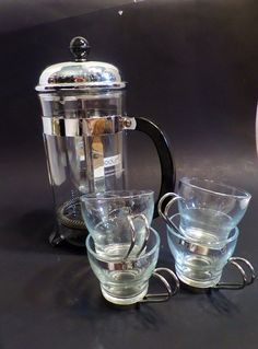 Vintage French Press Coffee Maker by TheFlyingHostess on Etsy