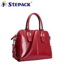 47.21$  Watch now - http://alikci.worldwells.pw/go.php?t=32284392779 - [6 colors] New Arrival Fashion Oil Wax Leather Women Bag Handbag Shoulder Bags Messenger Bags Upscale Special Offer WBG1031 47.21$