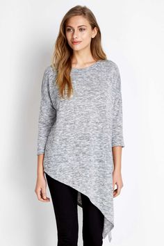 Grey Asymmetric Top ~ Wallis