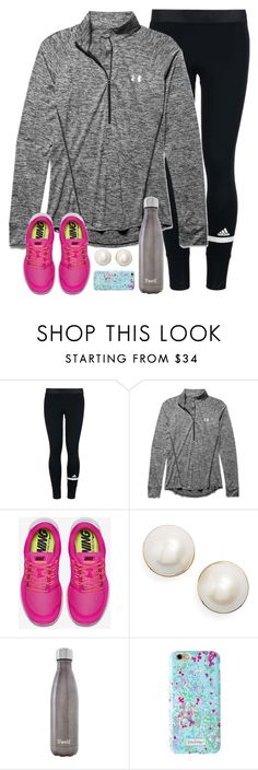 """tag in d."" by emmig02 ❤ liked on Polyvore featuring adidas, Under Armour, NIKE, Kate Spade, S'well, Lilly Pulitzer, women's clothing, women, female and woman"