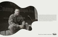 Adeevee - Taylor Guitars: Step Forward. Music Is Waiting.