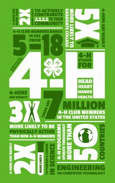 4-H: BY THE NUMBERS