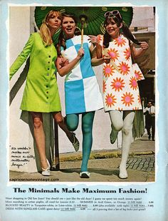 1968 teen magazine/aldens catalog fashion spread 6