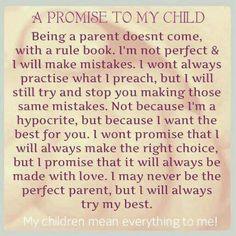 To my children