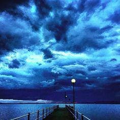 once upon a time there was a stormy sunset on a lake. #sunset #sunsetlovers #sunset_madness #sunsets #umbria_bestsunset #umbria #umbrians #umbriagram #tourleader #tourlife #photooftheday #photo #photography #italy #italia #italiansdoitbetter #italia360gradi #picoftheday #blue #rainyday #storm #temporale #trasimeno_lake #trasimenolake #trasimeno #lake #lagotrasimeno #lago #fotolaghiditalia #topitalyofficial by martavergoni