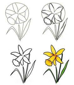 Fleur Dessin En Quelques Etapes Faciles A Suivre Inspirez Vous