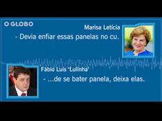 Vídeo de GRAMPO DA PF em que 🔴MARISA Letícia MANDA BRASILEIROS ENFIAREM PANELA NO C*