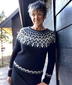 Ravelry: Dreyma pattern by Jennifer Steingass Fair Isle Knitting Patterns, Sweater Knitting Patterns, Knitting Designs, Knit Patterns, Icelandic Sweaters, Student Fashion, Pullover Sweaters, Knitwear, Sweaters For Women