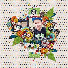 "Kristin Aagard ""Little Boys"" http://scraporchard.com/market/Digital-Scrapbook-Kit-Little-Boys.html — mit Kristin Aagard."