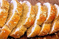 Honey Oat Bread - no kneading!