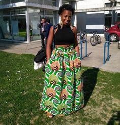#ankarastyles #ankaraclothes #africanprints #africanstyle #ankaraskirt