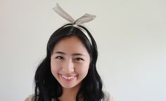 Hairband - why would you pay 16 dollars for something you can make yourself? Twist Headband, Bad Hair Day, Hair Band, Bows, Sissi, How To Make, Diy, Style, Fashion