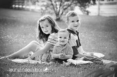 Sibling photo ideas. Brother sister pictures. Infant toddler school age children photo ideas. Black and white pictures of kids.