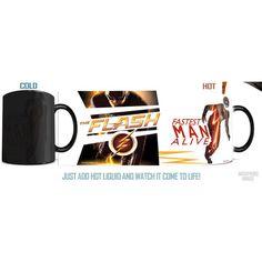 The Flash TV Series Fastest Man Alive Morphing Mug