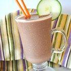 Courgette Chocolate Banana Nut Milkshake