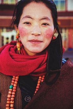 Tibetan women in Xiahe, China