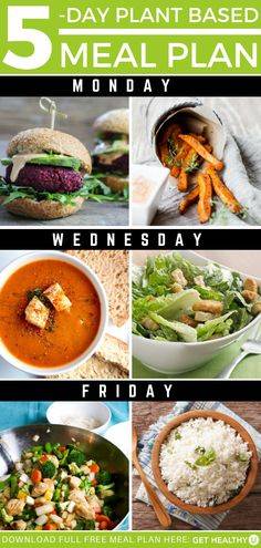 Get your plant-based meal plan here! Healthy Meals For One, Healthy Eating Recipes, Healthy Cooking, Easy Meals, Healthy Salads, Healthy Choices, Vegetarian Recipes, Plant Based Diet, Plant Based Recipes