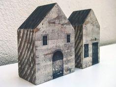 Casitas wood wood house by denisgora on Etsy