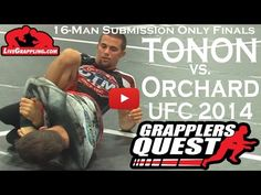 PRO FINALS || Garry Tonon vs. Nathan Orchard || Grapplers Quest Ultimate Grappler Sub Only 16-Man