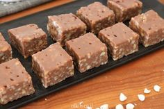 Milk chocolate fudge - This is a great recipe for chocolate lovers, especially milk chocolate lovers who will savor every bite. Chocolate Fudge, Chocolate Lovers, Chocolate Recipes, Sweet Cookies, Cake Cookies, Fudge Recipes, Dessert Recipes, Desserts, Best Cheese